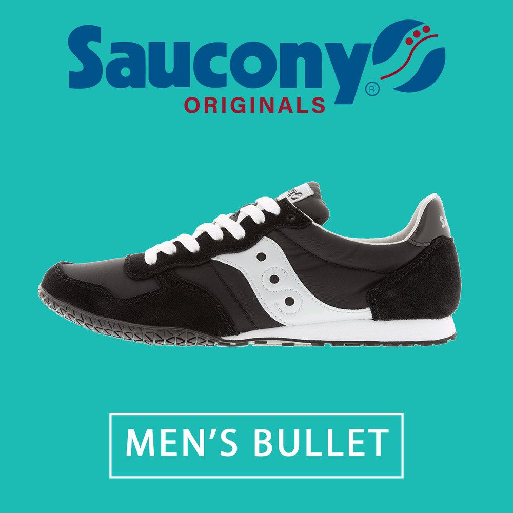 saucony men's bullet black silver 2943-37.jpg