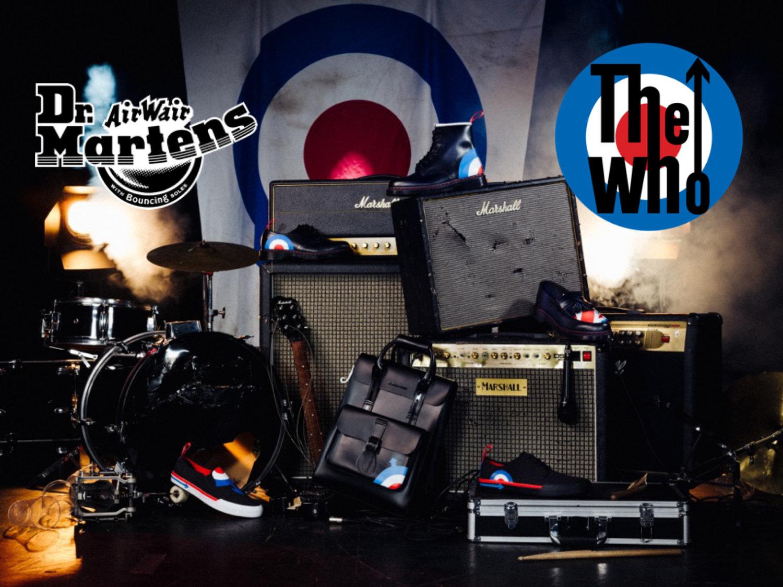 infermiera Marinaio Forse  The Who x Dr. Martens — RW Beyond The Box