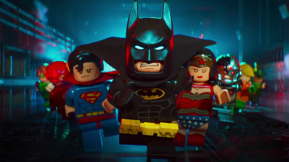 The Lego Batman Movie -