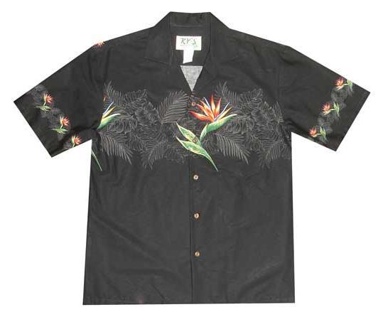 a1e7addc KY's Hawaiian Shirt - Bird of Paradise Band — Robert's of Kauai