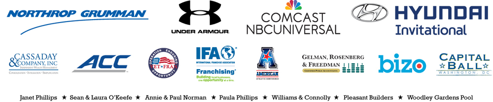 Thank you to our sponsors of the 2014 DC Touchdown Club Golf Outing benefiting the Bill Phillips Memorial Fund!