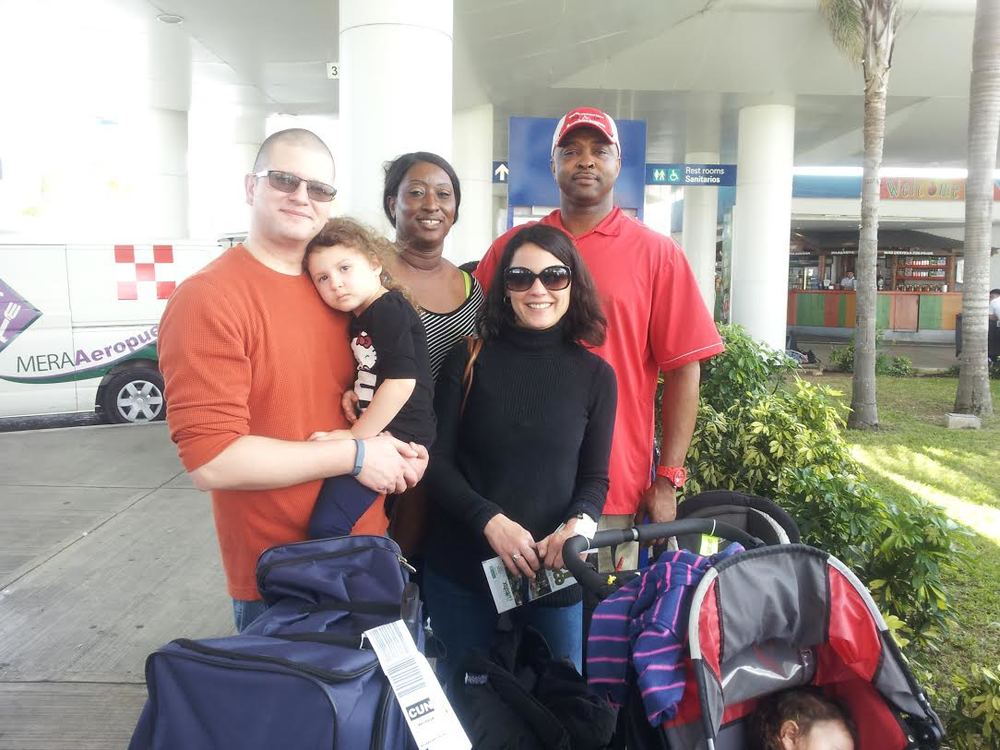 Wounded warrior families in Cancun