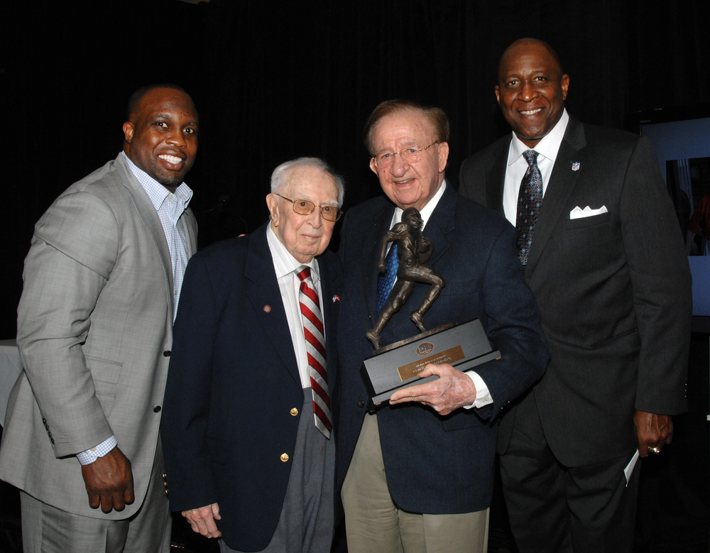 London Fletcher, Gallagher, Morgan Wootten and Doc Walker.