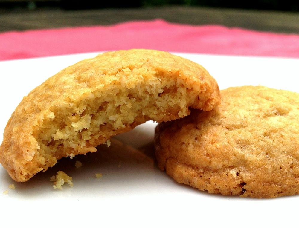 Kokos citroen koekjes