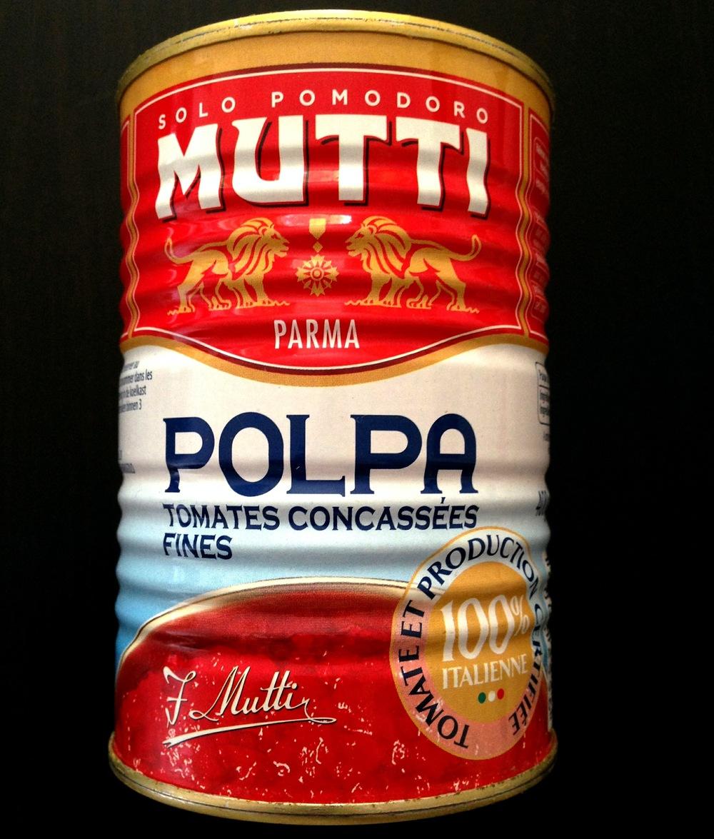 Polpa tomatenpulp Mutti