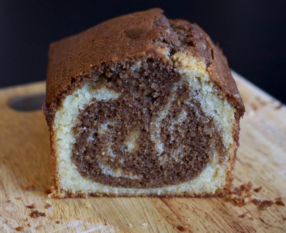 Speculaas marmer cake