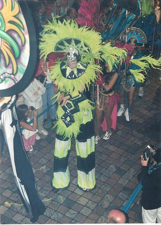 Mardi Gras Parade Stilts
