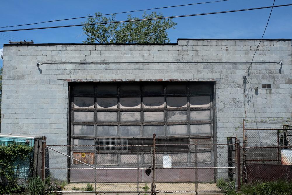 Pictured: The old garage door on Joe's.