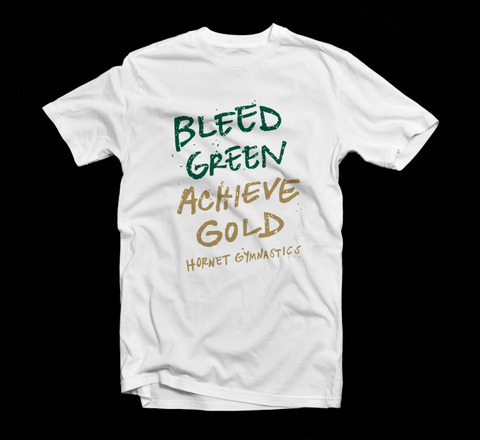 2014 hornet gymnastics tshirt design amanda blauvelt Gymnastics t shirt designs