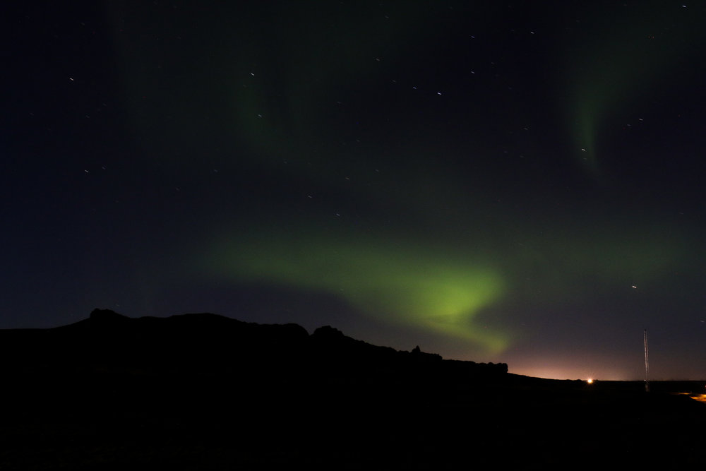 BONUS: NORTHERN LIGHTS! Magical, magnificent, spectacular, breathtaking, everything.