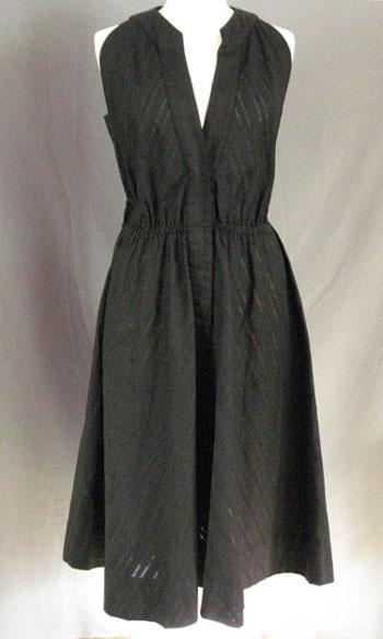 green vintage halter dress