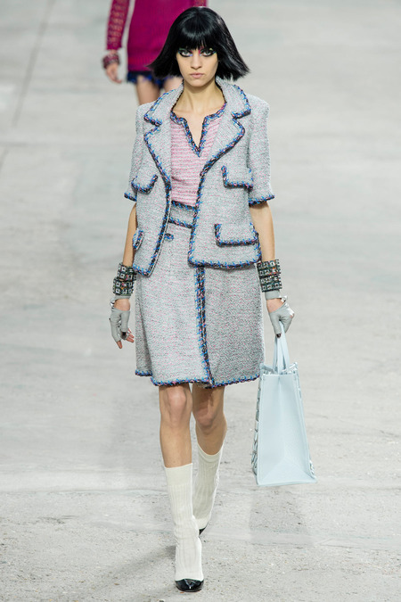 Chanel Spring skirt and jacket