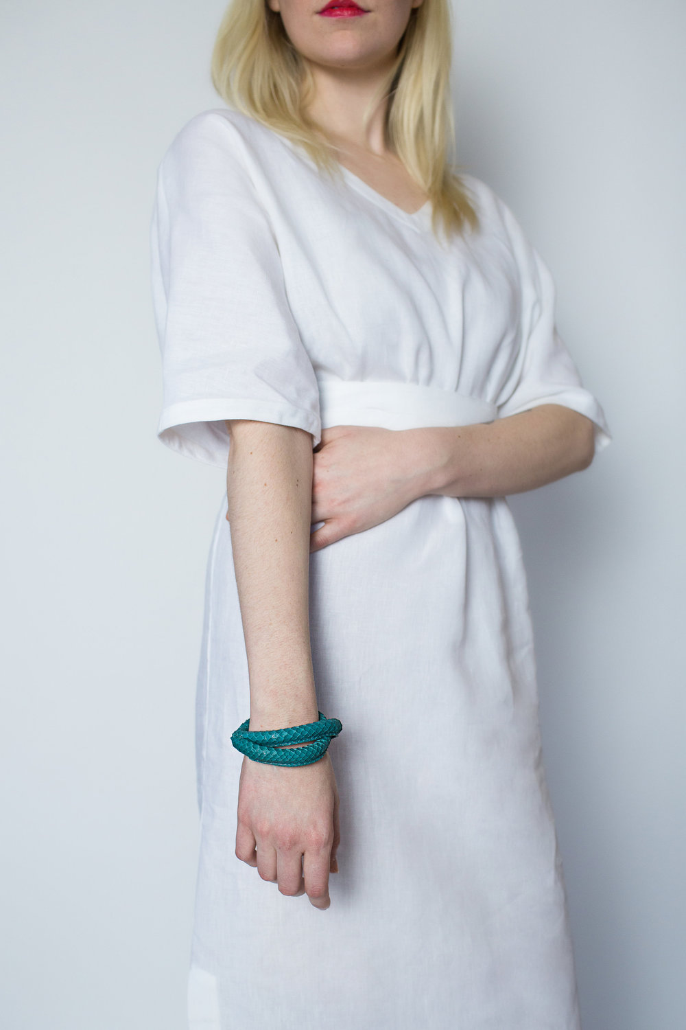Rachel Ravitch teal loop bracelet