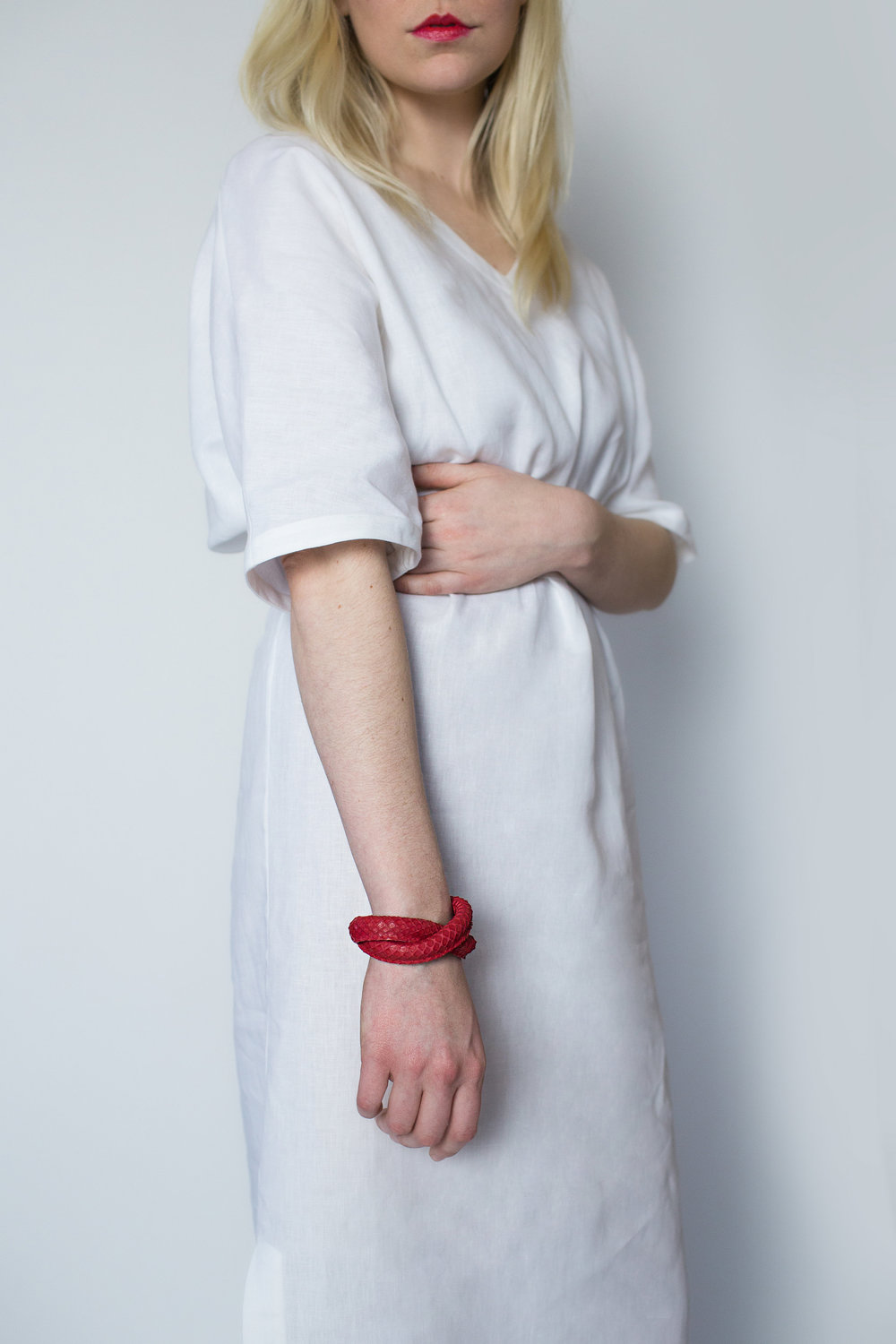 Rachel Ravitch red loop bracelet