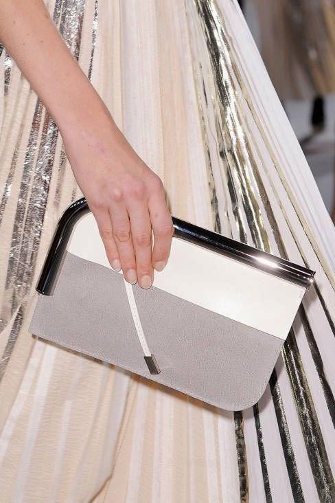 Proenza Schouler metallic detailed clutch