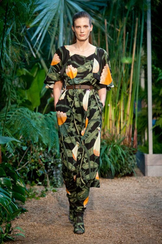 Natuer Print jumpsuit