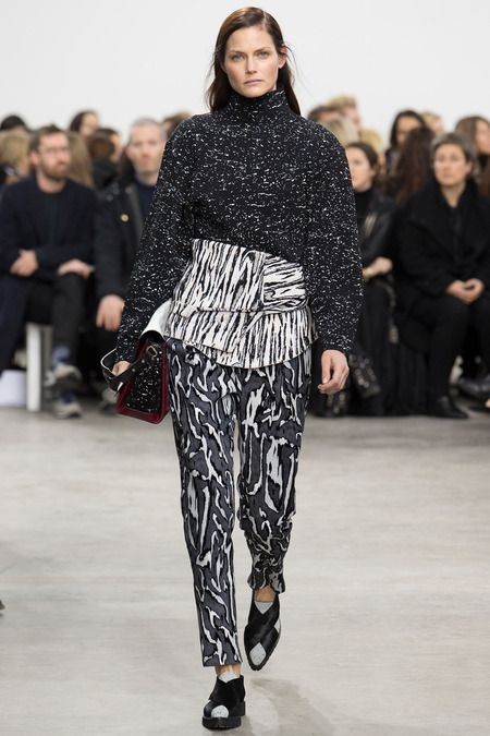 Proenza Schouler printed trousers