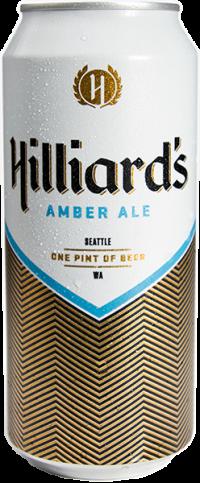 Hillard's amber ale beer