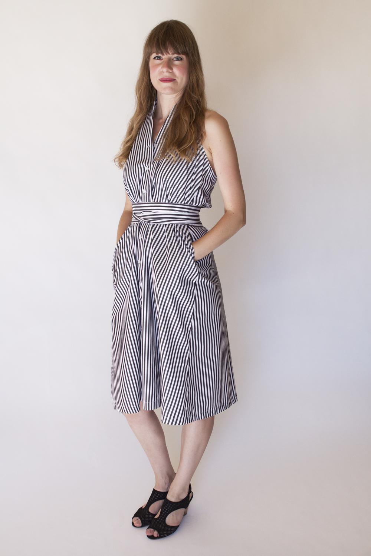 Erin Waters April Pride Halter Dress