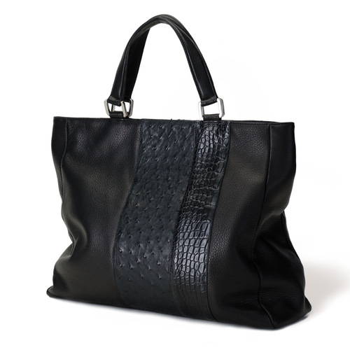 Anne Sylvain black shopper