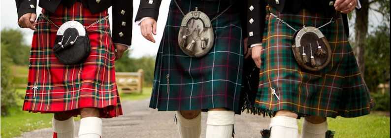 The Fèileadh Beag, philabeg or Walking Kilt