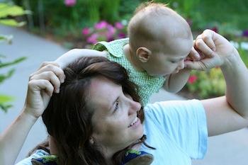 Christian and me, circa 2007
