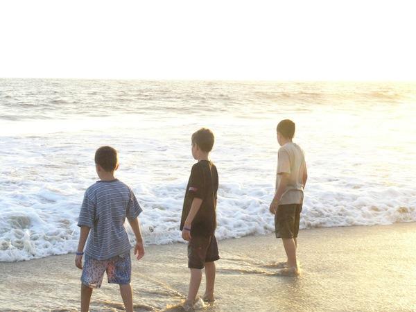 3 Boys Crystal Cove.JPG