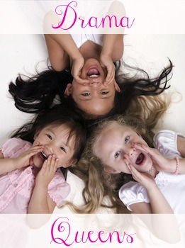These are not my daughters. These are some stock-image daughters from Microsoft Office who will never know they're being pegged as drama queens. If I put a photo of my daughters here, they would see it and then they'd be all dramatic about it...