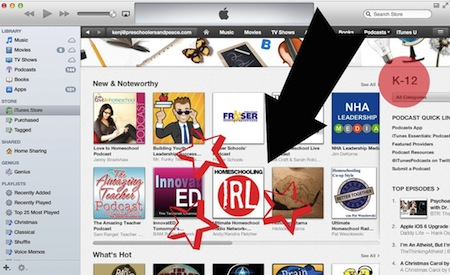 Homeschooling IRL is new and noteworthy!