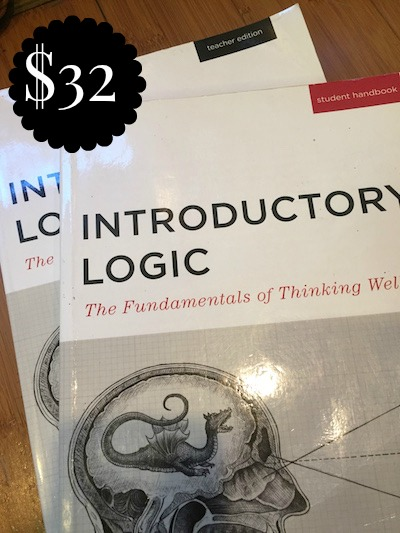INTRODUCTORY LOGIC STUDENT HANDBOOK & TEACHER EDITION - $32
