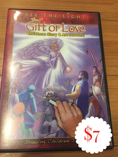 SEE THE LIGHT - THE GIFT OF LOVE - $7