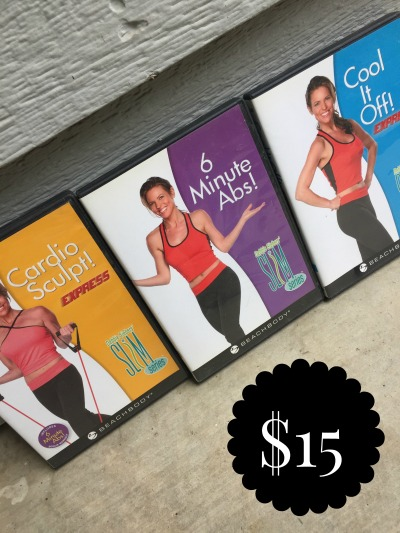 SLIM SERIES DVD'S SET - $15