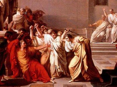 La Morte di Cesare di Vincenzo Camuccini