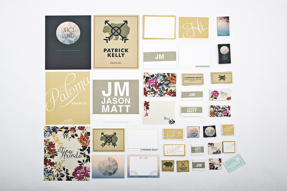 Personal Brand Templates: Flora Landscape, Modern Chic, Campy Collection, Straight To Business & Elegantly Understated