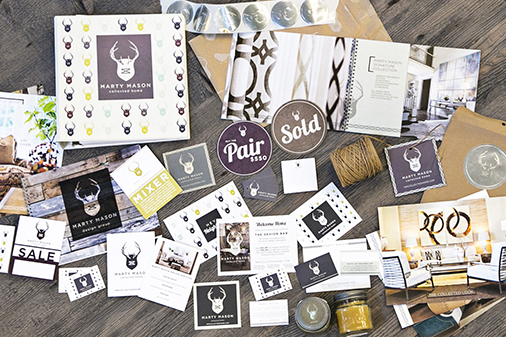 Branding: Marty Mason Collected Home, Atlanta, GA