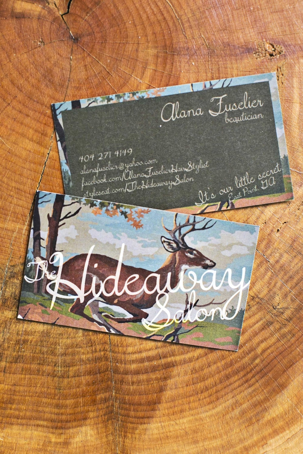 Branding: The Hideaway Salon, East Point, GA