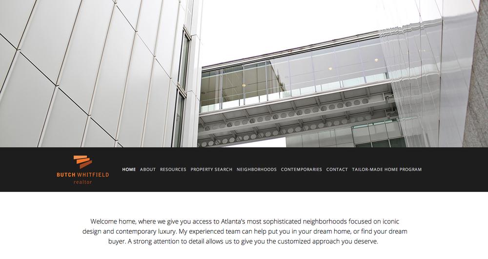 Website Design: Butch Whitfield Realty, Atlanta, GA