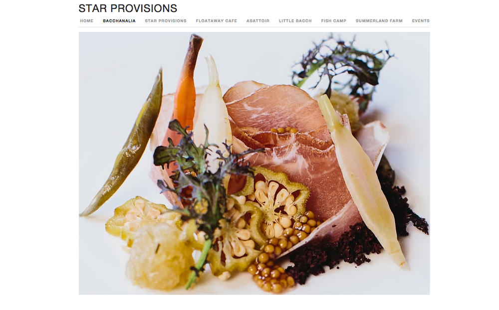 Website Design: Star Provisions, Atlanta, GA