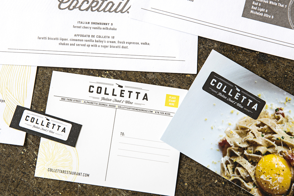 Branding: Colletta, Alpharetta, GA