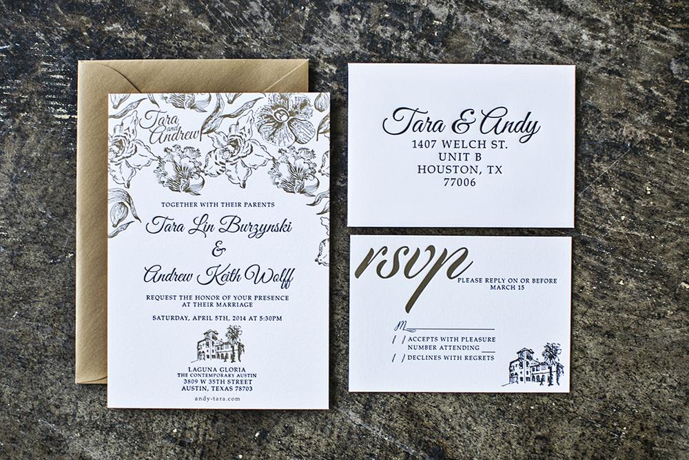 Wedding: Tara & Andrew, Austin, Texas