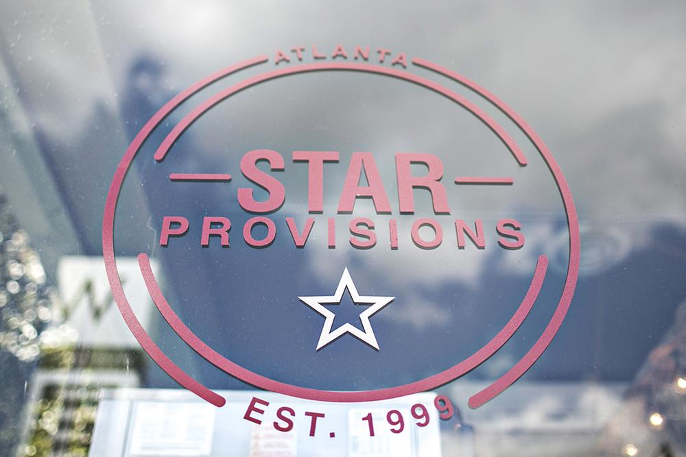 Branding: Star Provisions, Atlanta, GA