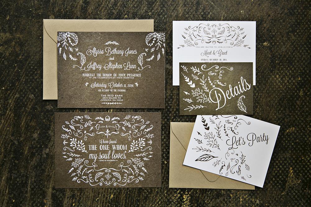 Wedding: Alyssa & Jeffrey, Cumming, GA