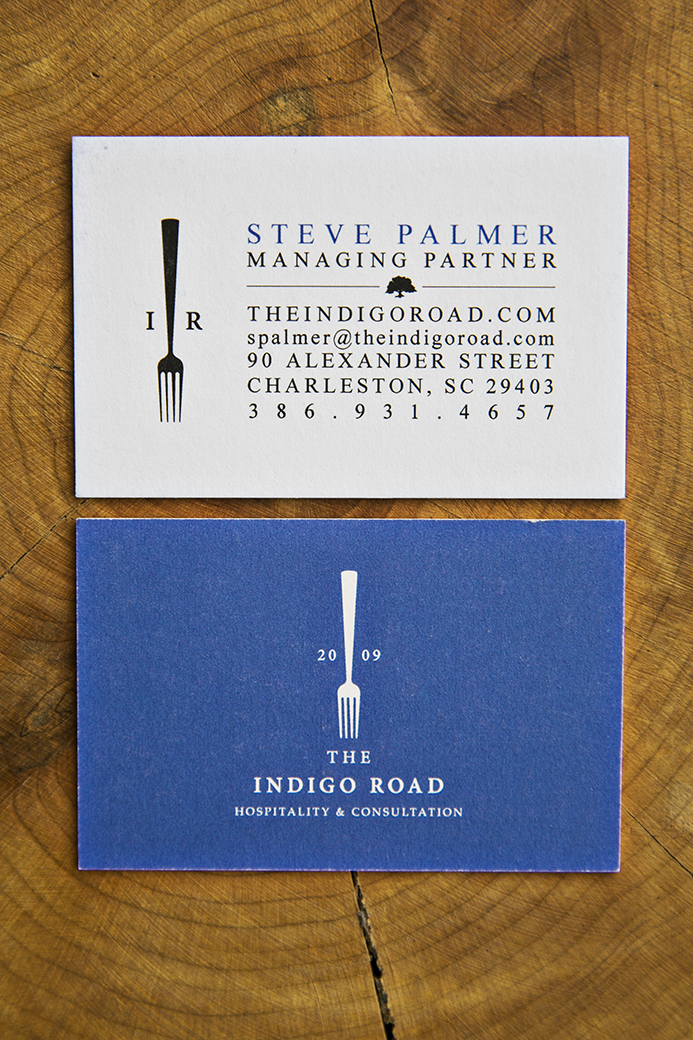 Branding: The Indigo Road, Charleston, SC