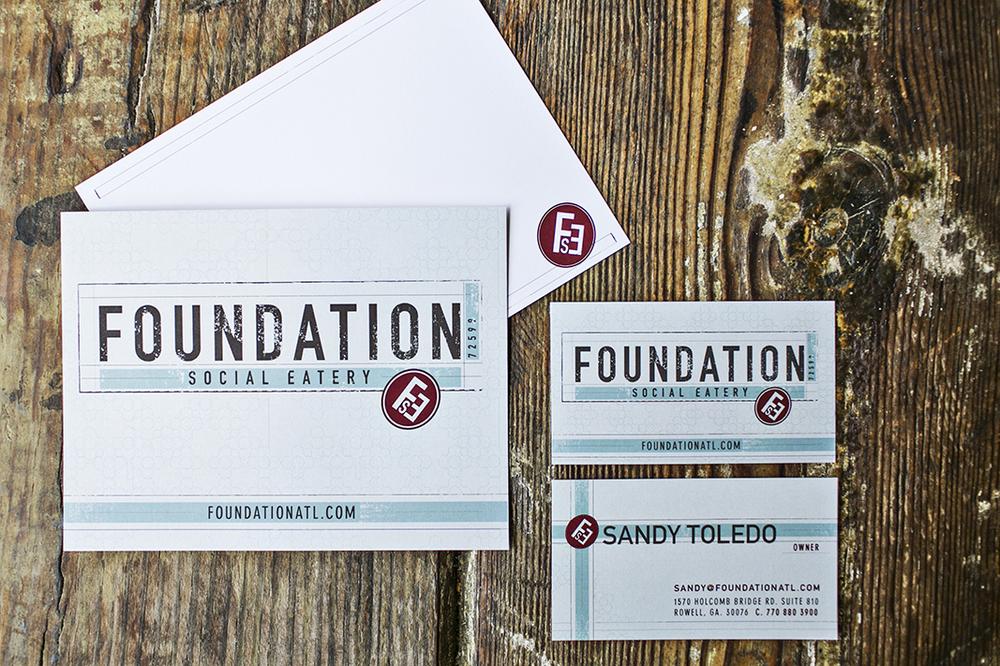 Branding: Foundation Social Eatery, Roswell, GA