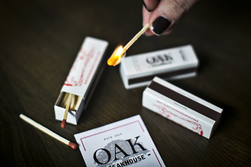 Branding: Oak Steakhouse, Alpharetta, GA