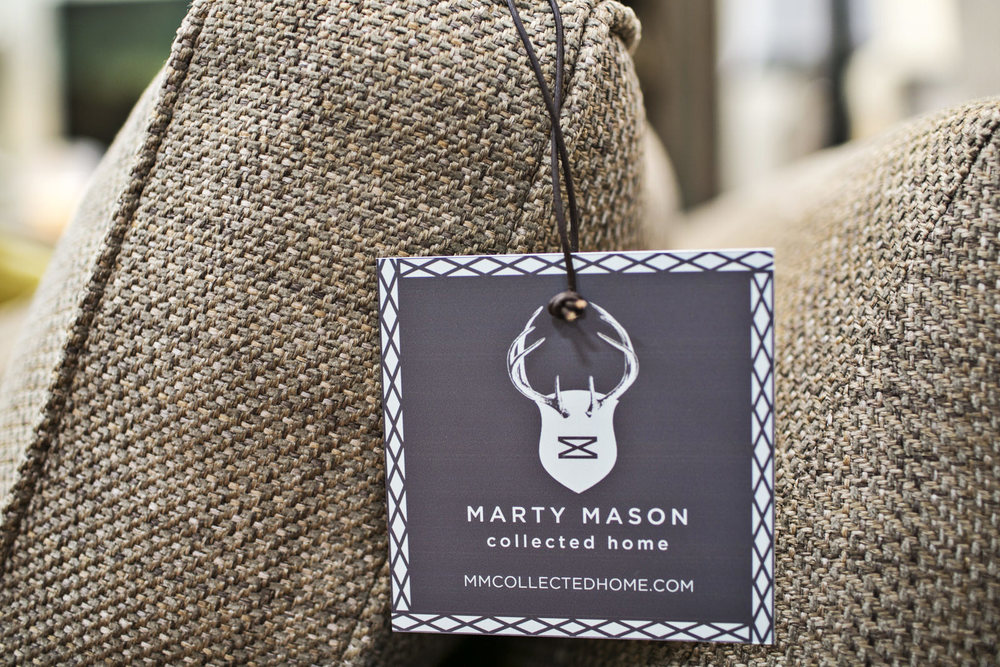 Marty Mason Collected Home sales tag