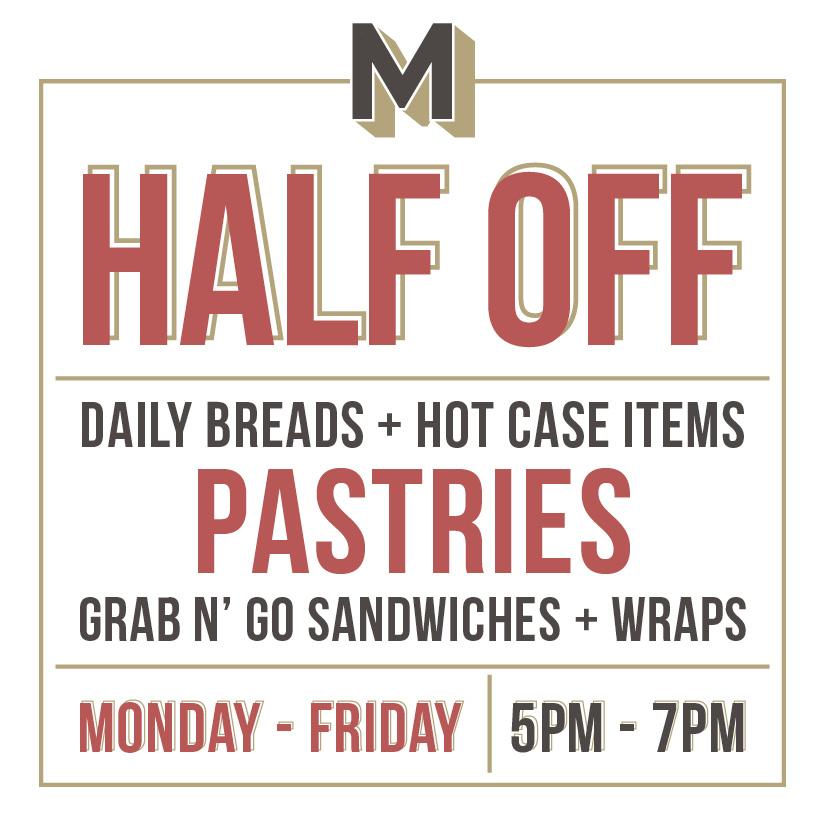 Mercantile & Mash - Half Off