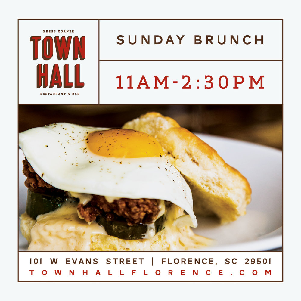 Town Hall - Brunch Graphic