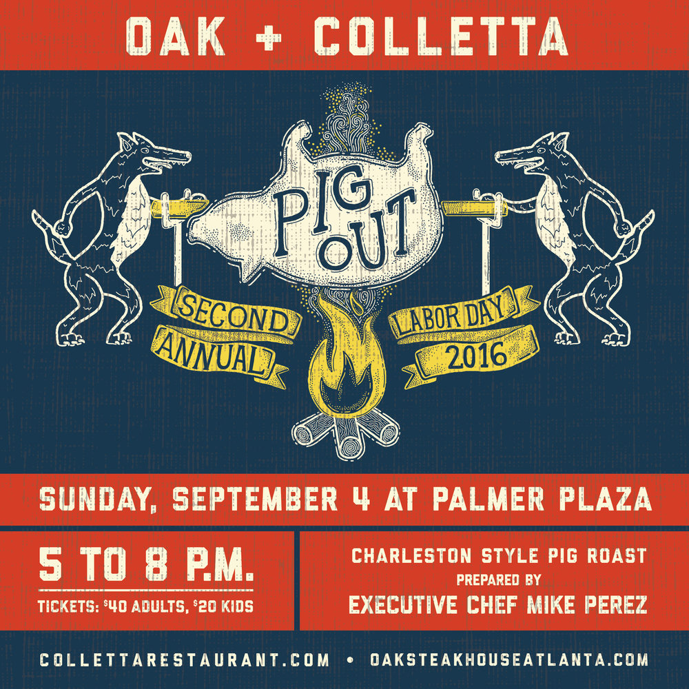 Oak + Colletta - Labor Day Graphic