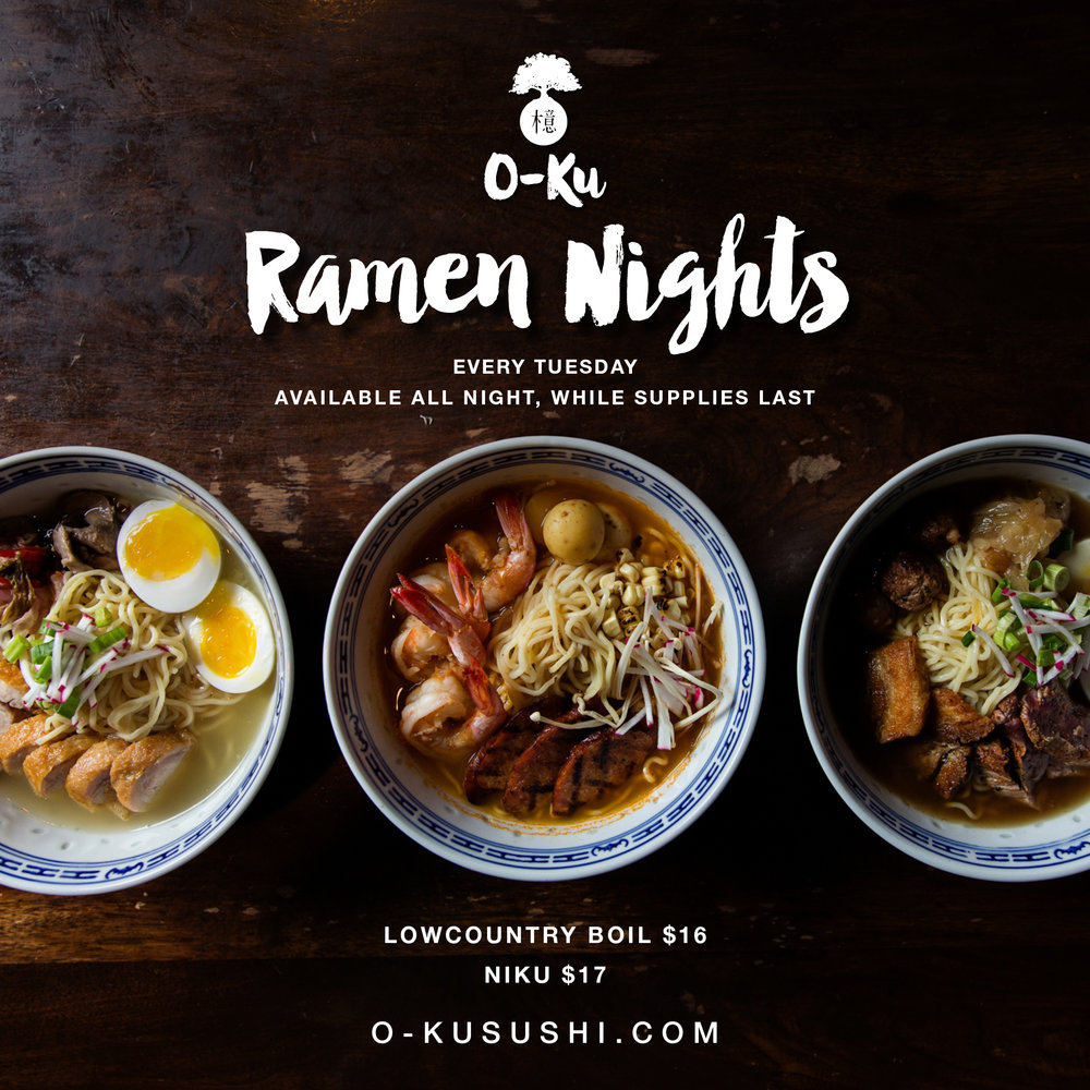 O-Ku - Ramen Nights Graphic